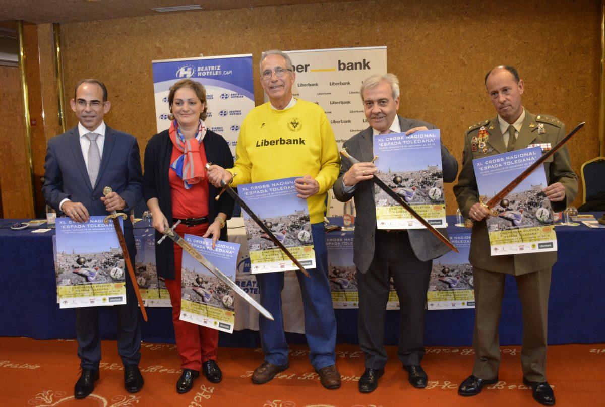 Toledo acoge este fin de semana, con la colaboración municipal, la XXXI Marcha Atlética y el XL Cross Nacional 'Espada Toledana'