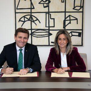 Ayuntamiento y Eurocaja Rural renuevan su colaboración para el desarrollo de la programación del Teatro de Rojas