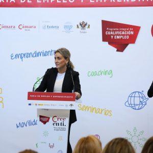 Milagros Tolón reitera el compromiso del Ayuntamiento con las iniciativas que ofrezcan una oportunidad laboral a los jóvenes