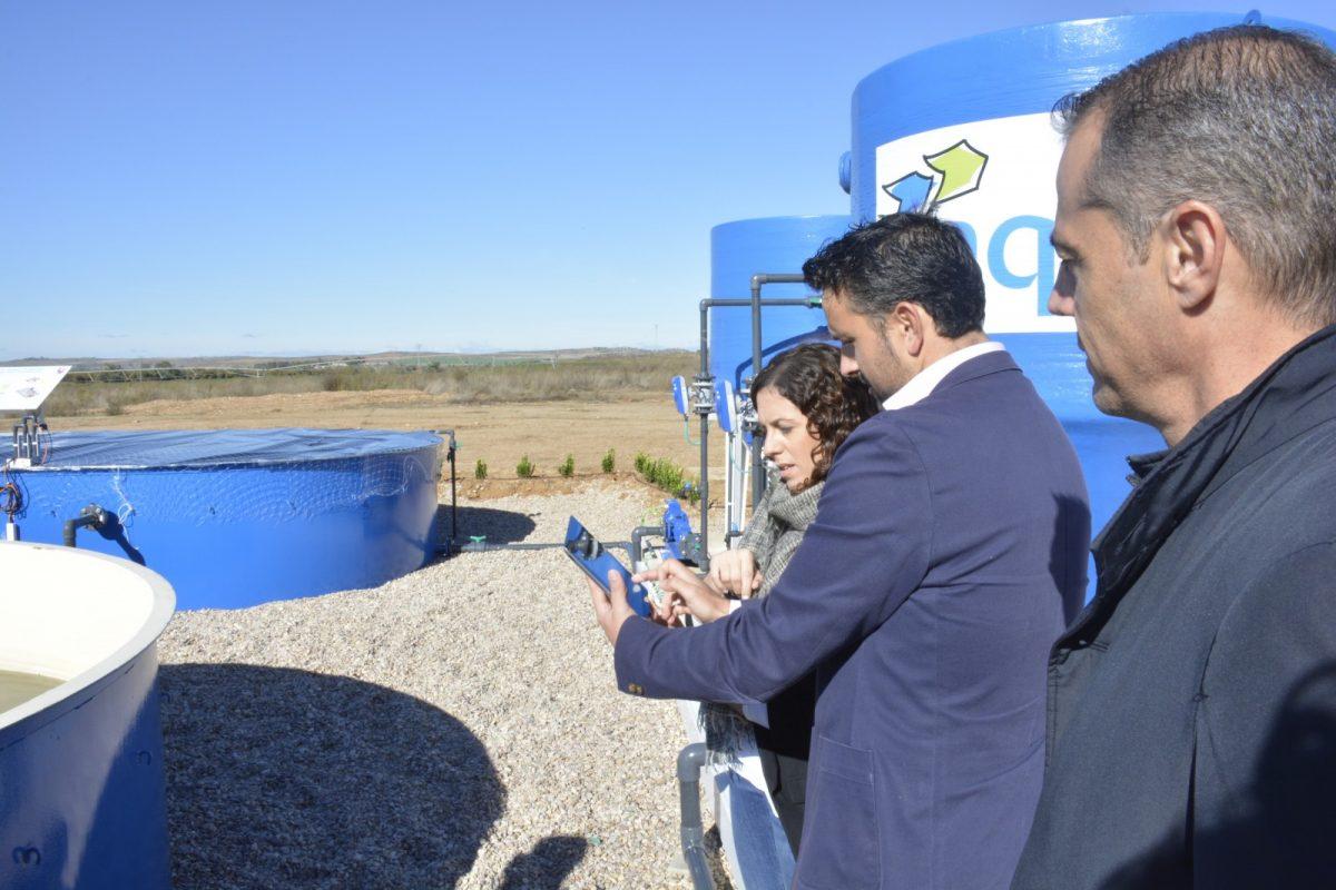 El Ayuntamiento apuesta por la eficiencia y la innovación para la mejora del tratamiento de aguas en la Depuradora de Estiviel