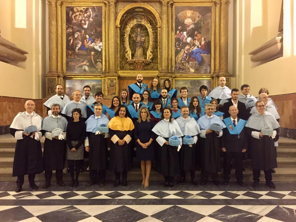 La alcaldesa destaca como madrina de la V promoción de Humanidades el papel decisivo de la UCLM en el Toledo del s. XXI