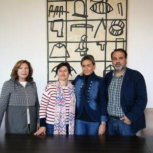 Milagros Tolón renueva el convenio con Apanas para el proyecto de inclusión socio-laboral de personas con capacidades diferentes