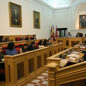 l Pleno del Ayuntamiento aprueba por unanimidad la declaración institucional en contra de la violencia machista en el marco del 25N