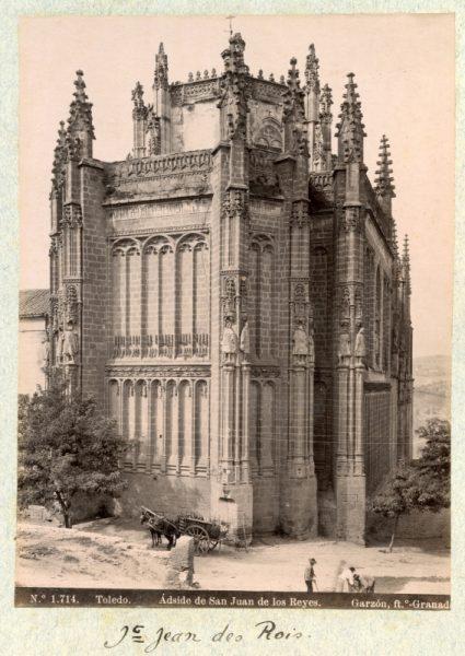 1714 - Toledo. Ábside de San Juan de los Reyes
