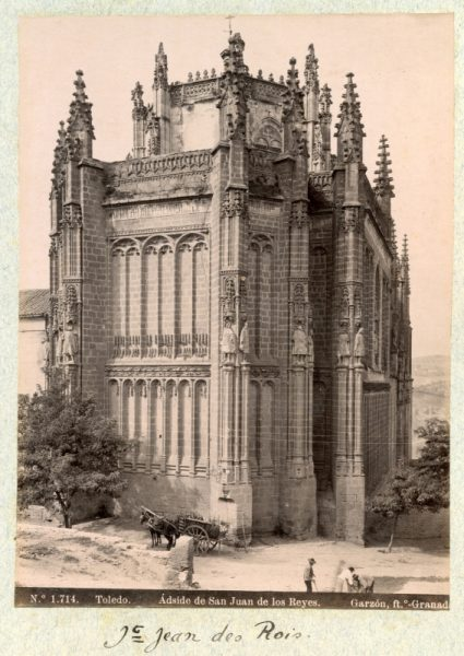 1714 - Toledo. Ádside [sic, Ábside] de San Juan de los Reyes