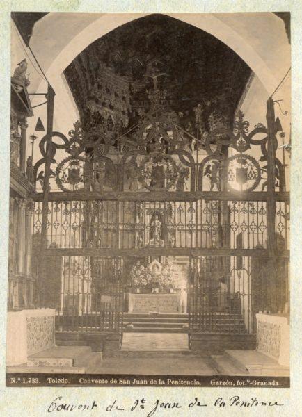 1733 - Toledo. Convento de San Juan de la Penitencia