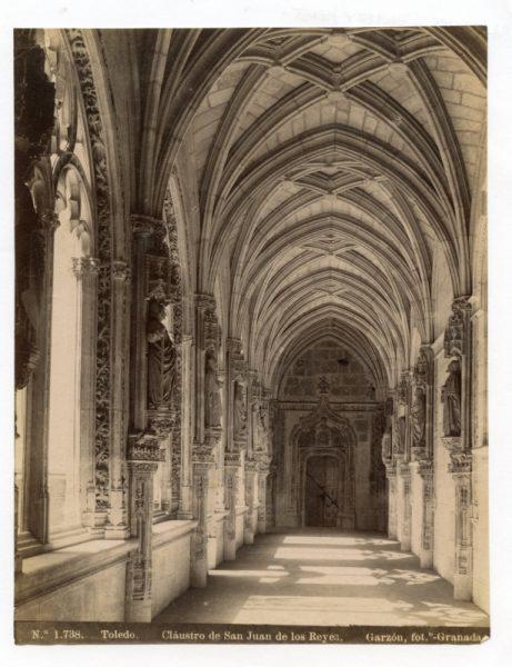 1738 - Toledo. Claustro de San Juan de los Reyes