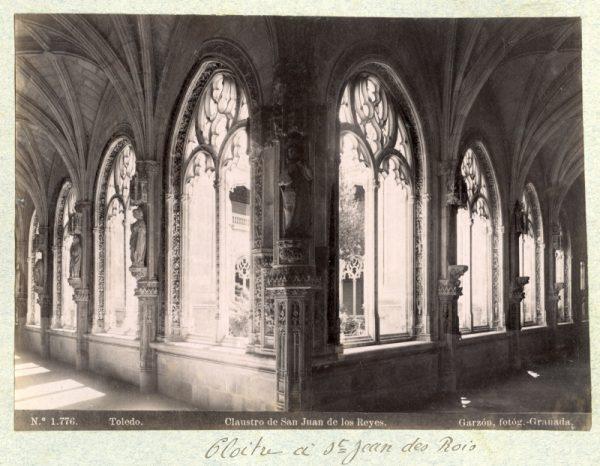 1776 - Toledo. Claustro de San Juan de los Reyes