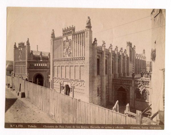 1779 - Toledo. Claustro de San Juan de los Reyes. Escuela de artes y oficios