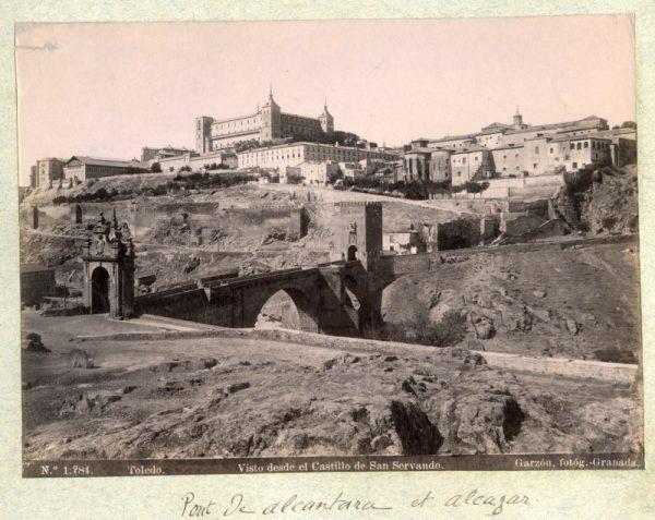 1784 - Toledo. Visto desde el Castillo de San Servando