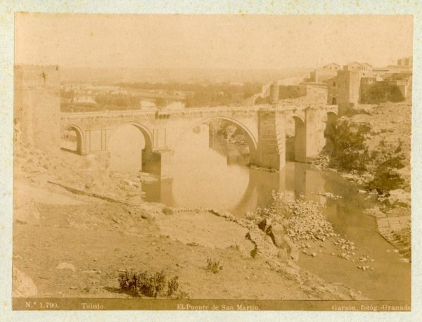 1790 - Toledo. Puente de San Martín