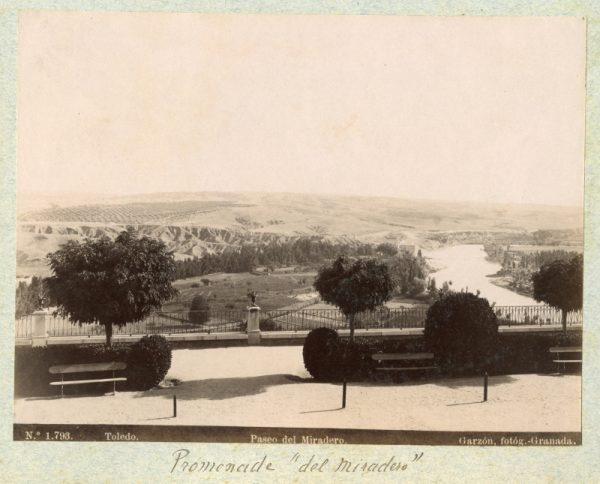 1793 - Toledo. Paseo del Miradero