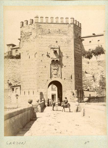 1801 - Toledo. Puerta y Puente de Alcántara