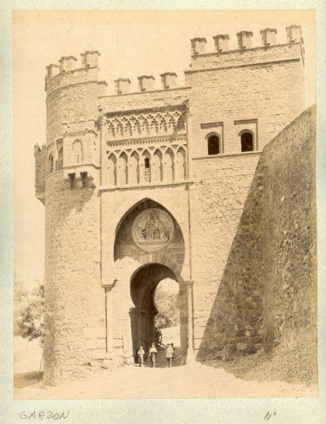 1802 - Toledo. Puerta del Sol. Fachada Poniente
