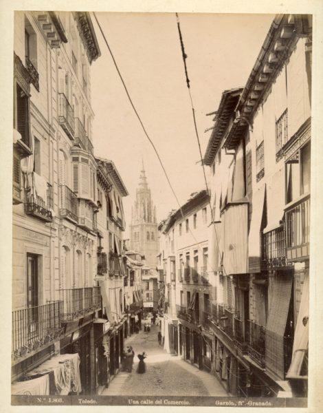 1803 - Toledo. Una calle del Comercio