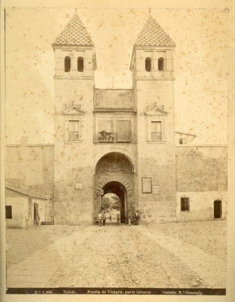 1806 - Toledo. Puerta de Bisagra, parte interior