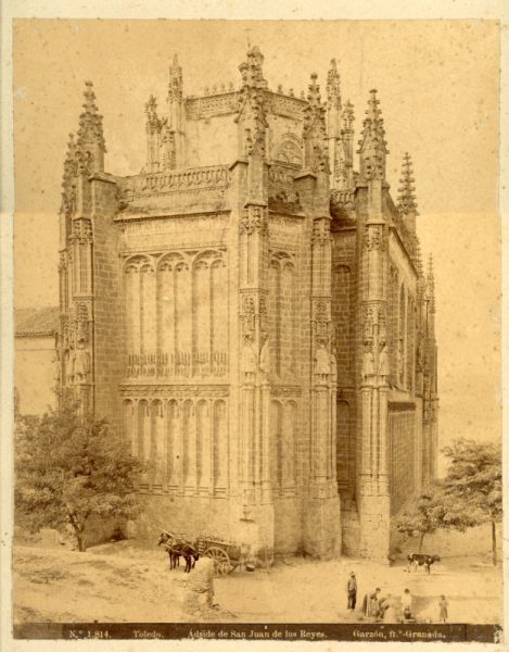 1814 - Toledo. Ábside de San Juan de los Reyes