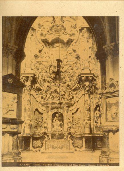 1820 - Toledo. Catedral_El trasparente del Altar Mayor