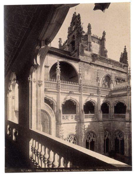 1824 - Toledo. San Juan de los Reyes. Galería alta y patio