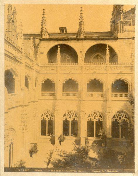 1827 - Toledo. San Juan de los Reyes_Patio