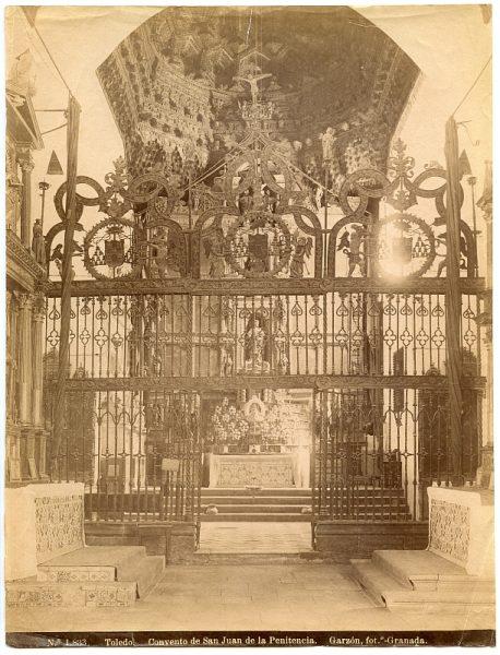 1833 - Toledo. Convento de San Juan de la Penitencia - ALBA-2ª colección