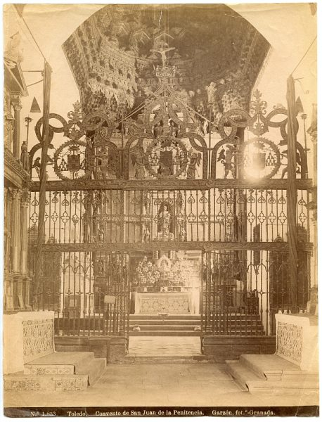 1833 - Toledo. Convento de San Juan de la Penitencia ALBA 2ª colección