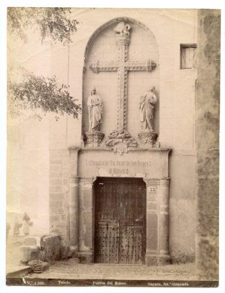 1842 - Toledo. Puerta del Museo [San Juan de los Reyes]