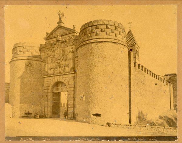 1853 - Toledo. Puerta de Visagra [sic, Bisagra]