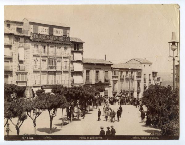 1864 - Toledo. Plaza de Zocodover