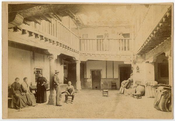 1865 - Toledo. Posada donde Cervantes escribió La Ilustre Fregona