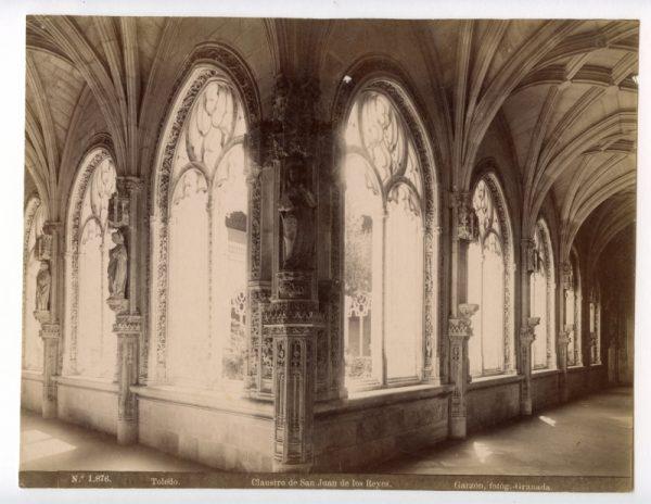 1876 - Toledo. Clausto de San Juan de los Reyes
