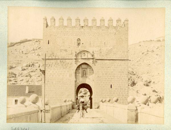 1894 - Toledo. Puente de San Martín