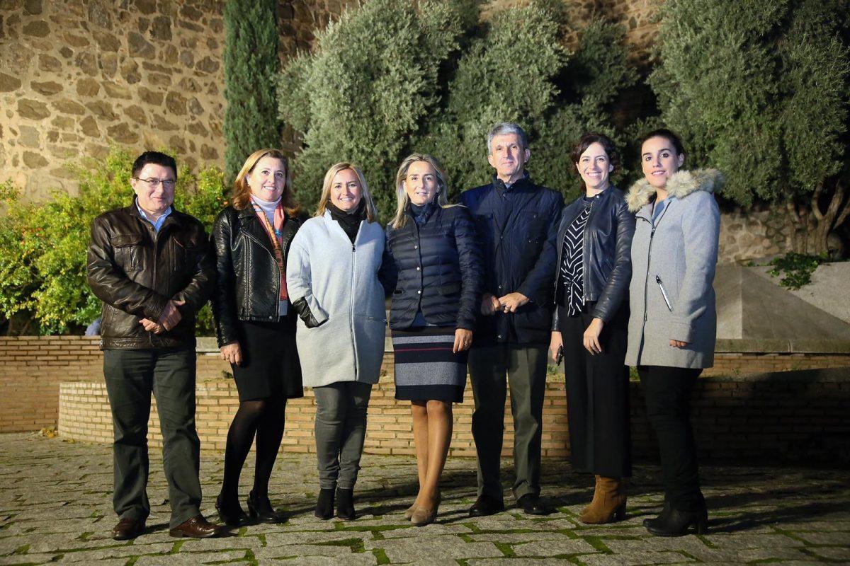 http://www.toledo.es/wp-content/uploads/2018/11/20181126_muralla-1200x800.jpeg. Milagros Tolón destaca que la ciudad es referente internacional en iluminación monumental nocturna y ejemplo para otras capitales