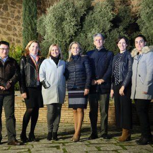 Milagros Tolón destaca que la ciudad es referente internacional en iluminación monumental nocturna y ejemplo para otras capitales