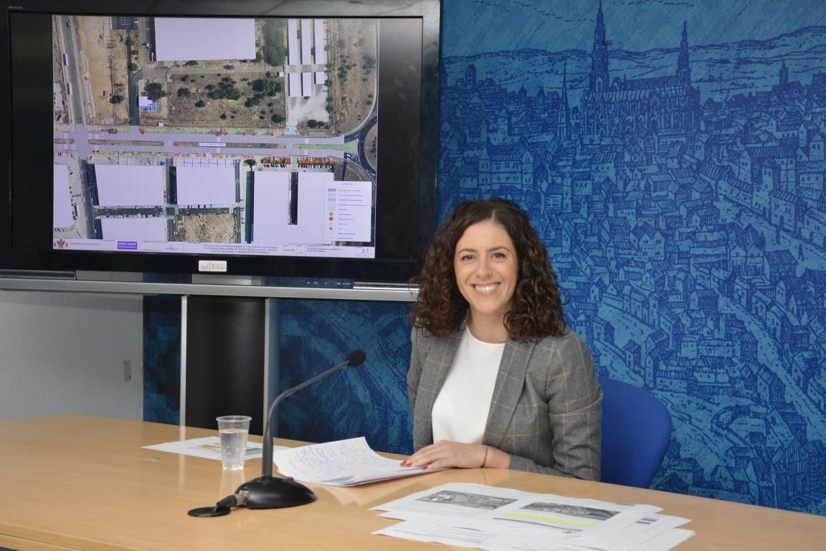 https://www.toledo.es/wp-content/uploads/2018/11/20181128_noelia-de-la-cruz-1200x800.jpg. Las obras de acondicionamiento y mejora del Polígono Industrial con 1,6 millones de euros incluyen zonas verdes y aparcamientos