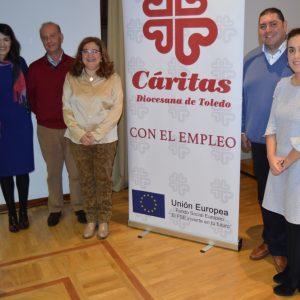 l Ayuntamiento participa en la jornada 'El empleo en el sector sociosanitario y de la dependencia' de Cáritas Diocesana de Toledo
