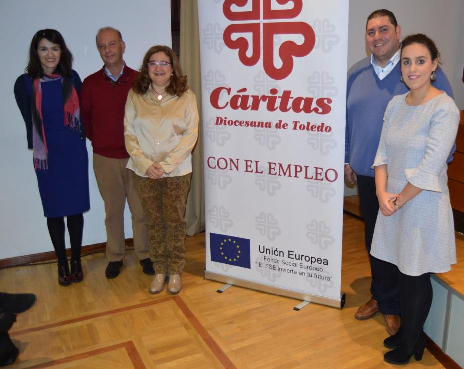 El Ayuntamiento participa en la jornada 'El empleo en el sector sociosanitario y de la dependencia' de Cáritas Diocesana de Toledo