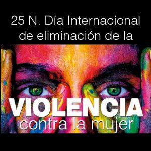 Programación de actividades del Día contra la Violencia hacia las Mujeres 25-N 2018