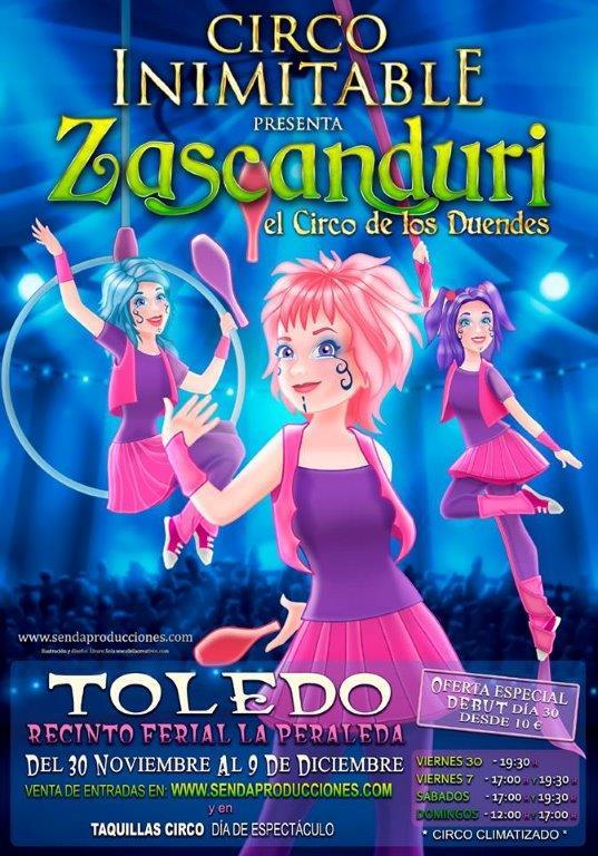 http://www.toledo.es/wp-content/uploads/2018/11/circo.jpg. Circo Inimitable Zascanduri, el circo de los duendes