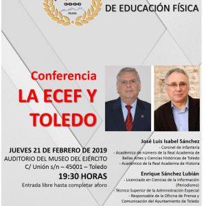 CICLO DE CONFERENCIAS: 1919 – 2019 CENTENARIO ECEF
