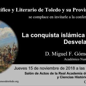 Conferencia La conquista islámica de España: desvelando el mito