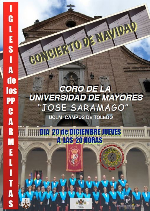 "http://www.toledo.es/wp-content/uploads/2018/11/coro-jose-saramago.jpg. Recital de Villancicos a cargo del Coro ""José Saramago"""