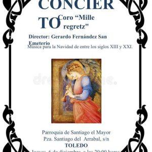 Concierto Coro Mille Regretz