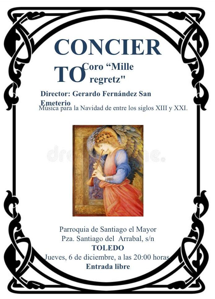 http://www.toledo.es/wp-content/uploads/2018/11/coro-santaigao.jpg. Concierto Coro Mille Regretz
