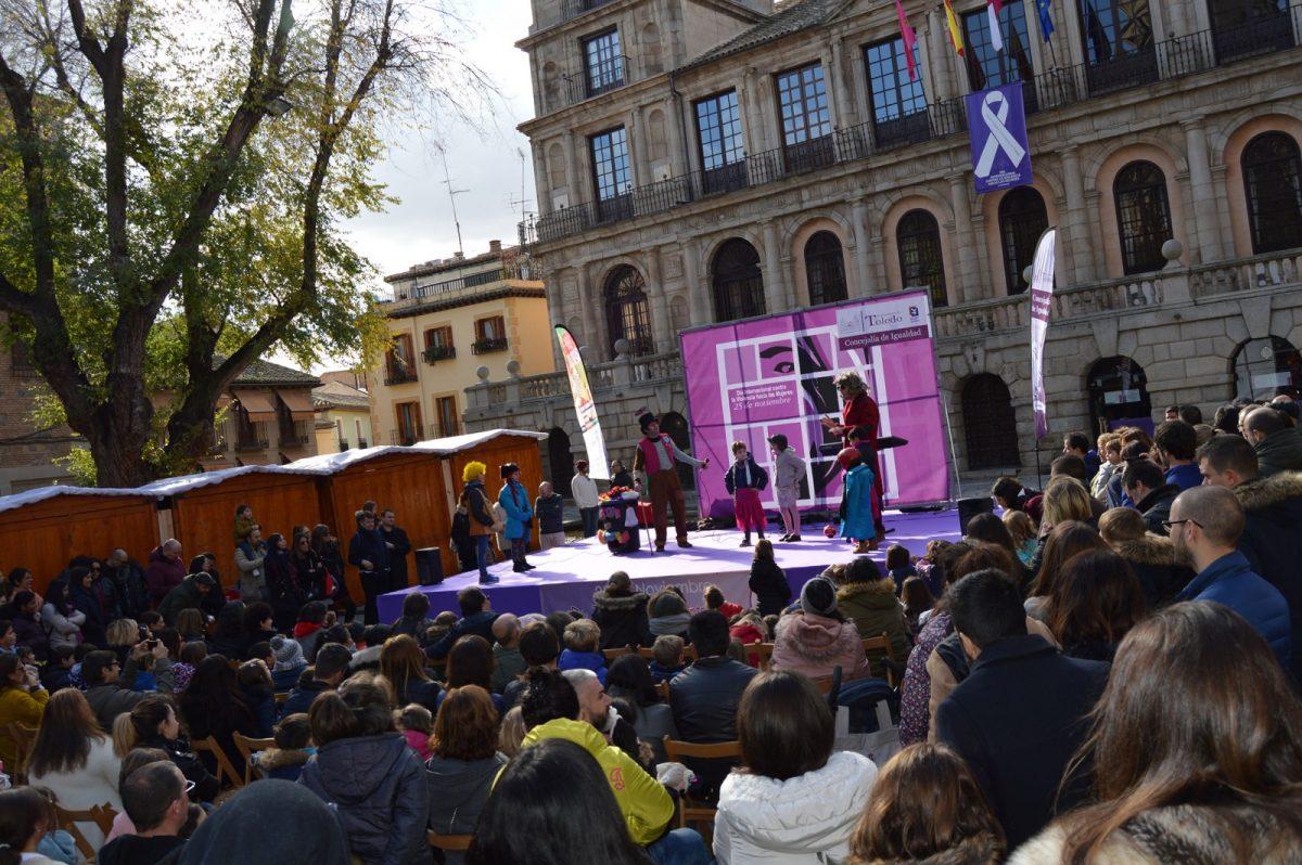 http://www.toledo.es/wp-content/uploads/2018/11/igualdad_1-1200x798.jpg. Toledo se prepara para la marcha del 25N, Día Internacional contra la Violencia hacia las Mujeres, con iniciativas de sensibilización