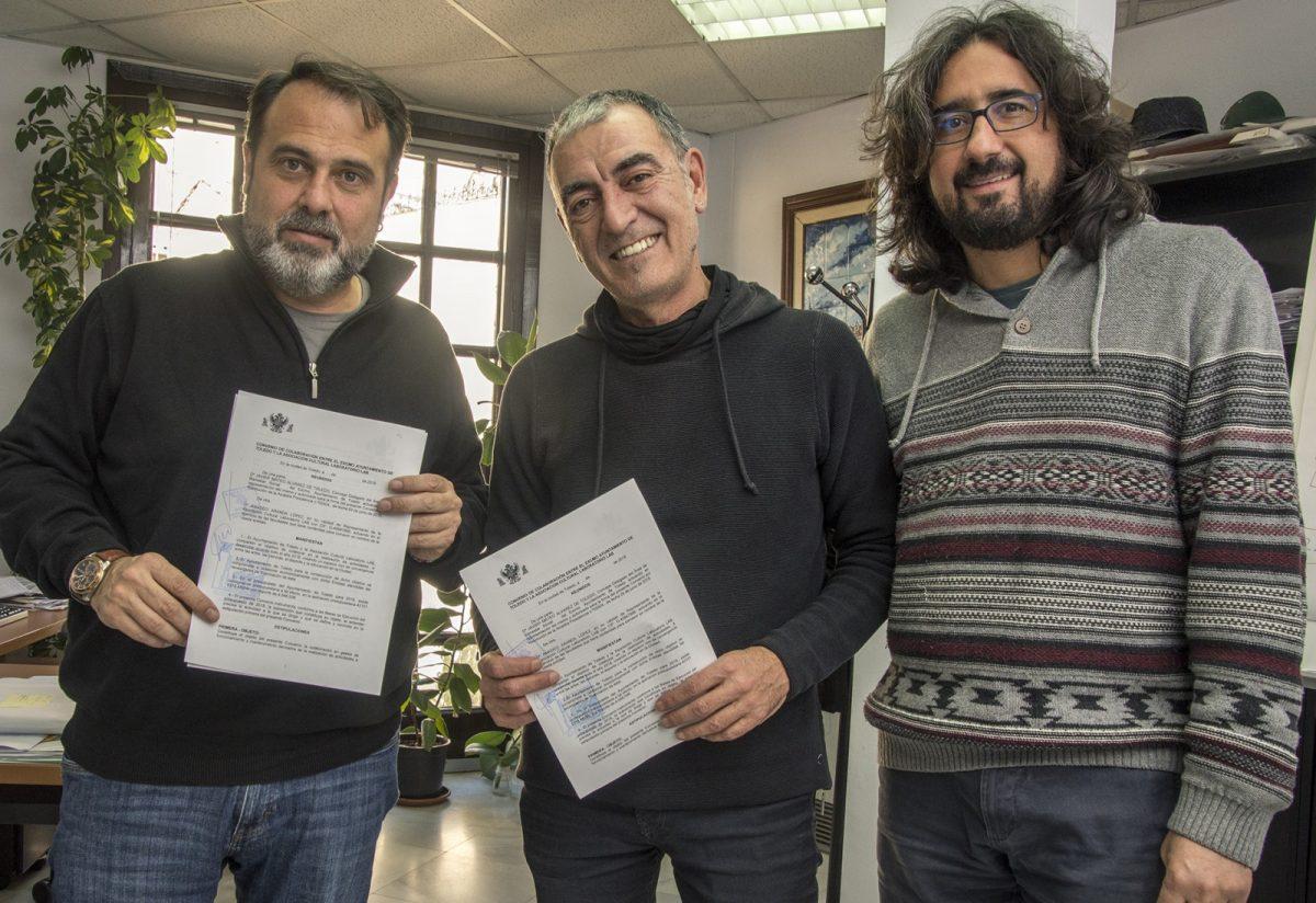 http://www.toledo.es/wp-content/uploads/2018/11/jp2_8858-1200x824.jpg. El Ayuntamiento firma nuevos convenios con Matadero Lab y Onda Polígono para la promoción de actividades juveniles
