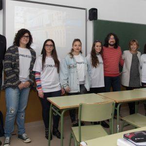 l Ayuntamiento promueve la participación juvenil en centros de secundaria a través de los talleres #EspabilaToledo
