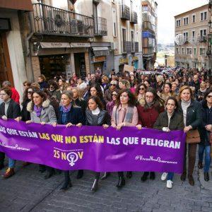 a ciudad sale a la calle este 25N y enfatiza en los menores asesinados por sus padres en entornos de violencia machista