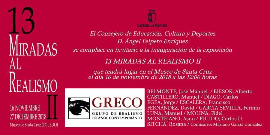 """Exposición """"13 Miradas al Realismo II"""""""