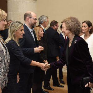 La alcaldesa de Toledo participa en la entrega del 'Premio Patrimonio 2018' a Su Majestad la Reina Doña Sofía en el Día Internacional